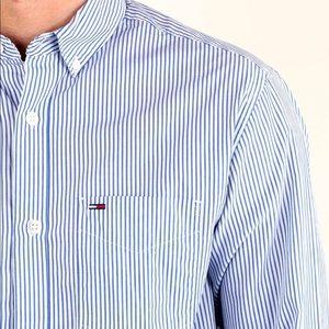 TOMMY HILFIGER Classic Stripe Button Down Shirt